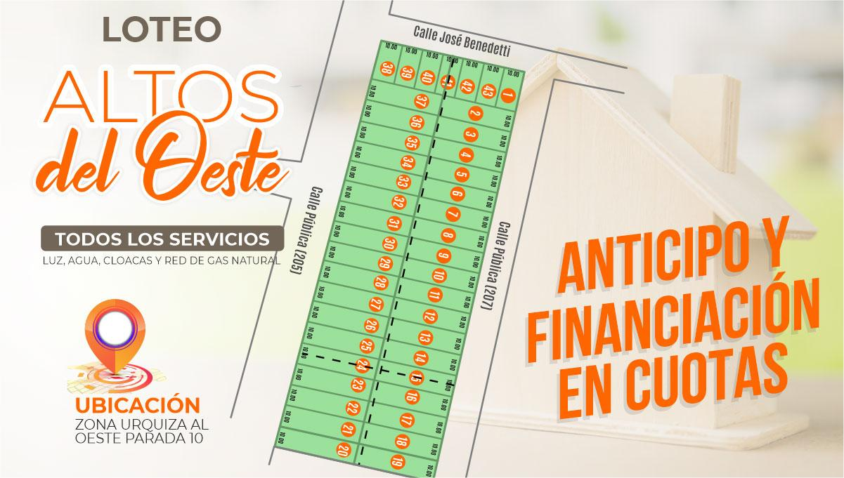 LOTEO ALTOS DEL OESTE